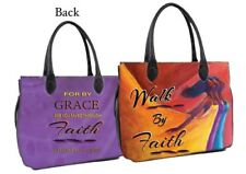 Walk by Faith Purse Style African American Bible Bag by Artist, Kerream Jones