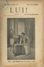 RARE EO 1897 GRAND GUIGNOL OSCAR MÉTÉNIER + PHOTOS : LUI !