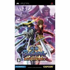 Used PSP Sengoku Basara: Battle Heroes Japan Import