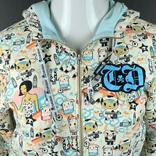 Tokidoki Girls M Zip Hoodie Sweatshirt Leche Milk Womens XS HTF