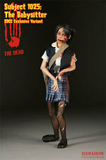 "Sideshow The Dead: Subject 1025: Babysitter -Blue 2008 SDCC Exclusive 12"" Figure"