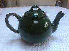 Vintage Hall Lipton Tea Pot in Forest Green Dark Green Rare!