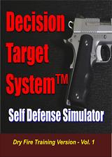 Decision Target System 1 - Tactical Dry Fire Training Simulator - 45 Scenarios