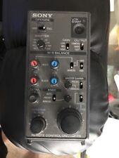 sony rm-p9 camera control