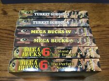 Lot of 6 Vhs Mossy Oak Hunting Vcr Videos
