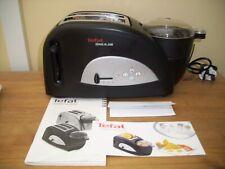 Tefal  2 Slice Wide Slot Toast 'n' Egg 'n' Beans Toaster - Black Unused