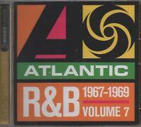 VARIOUS ARTISTS Atlantic R & B Volume 7 1967 - 69  CD ALBUM  NEW - NOT SEALED