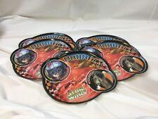 Set of 5 Star Wars Anakin Sebulba PodRace Shaped Kids Melamine Plate Zak Design