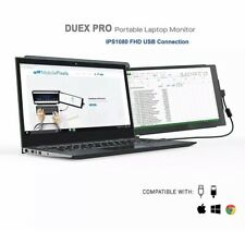 """Mobile Pixels Duex Pro Portable Dual Monitor for Laptops, 12.5"""" Full HD IPS Lapt"""