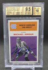 2011-12 Fleer Retro Michael Jordan 1961 Auto Purple BGS 9.5 SSP 61MJ