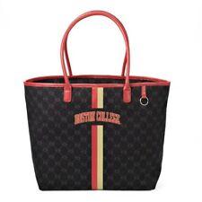 "NCAA Boston College Eagles 19x7x13"" Black Canvas Tote Handbag Purse Bag Official"