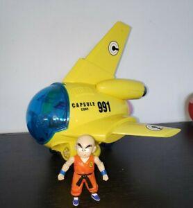 FUNimation Jakks Pacicic Dragon Ball Z Capsule No.991 Airplane Krillin Set Loose
