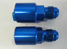 LT1 LT4 LS1 LQ4 LQ9 Fuel Rail Adapter Fittings Feed/Return AN 6 PUSH ON BLUE