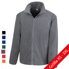 Result Fleece Jacke Herren Fleecejacke NEU R114X MICROFLEECE