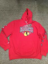 Chicago Blackhawks Red Mitchell & Ness Hoodie Sweatshirt 5XL Brand New With Tags