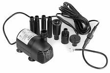 AEO WP501210 12V - 24V DC Brushless Submersible Water Pump, 410GPH - Single Pack