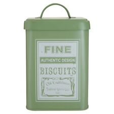 Whitby Biscuit Canister Vintage Cake Tin Metal Kitchen Food Storage Container