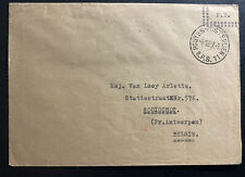 1957 Belgium Forces Military Post Office In Germany cover To Booischot
