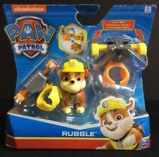 "Mini 5/"" Paw Patrol Plush Rocky Rubble Zuma Window Sucker nickelodeon BNWT"