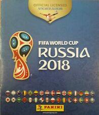 PANINI WORLD CUP RUSSIA 2018 FULL SET OF 682 STICKERS EMPTY ALBUM