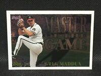 1996 Topps Master of the Game Greg Maddux Card #MG19 HOF MINT