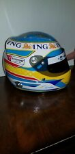 RARE 2008 Fernando Alonso 1/2 Scale Helmet Renault ING
