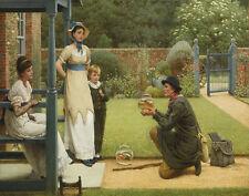 Leslie Dunlop GeorgeThe Goldfish Seller Print 11 x 14   #4811