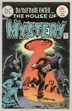 House of Mystery #230 April 1975 VG UFO cover