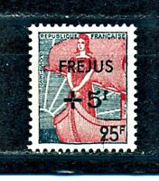 TIMBRE FRANCE   N°1229  MARIANNE SURCHARGE FREJUS     NEUF SANS CHARNIERE