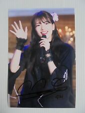 Suzy Bae Miss A 4x6 Photo Korean Actress KPOP autograph signed USA Seller 28