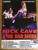 Nick Cave Original Deutschland Tournee Plakat 1990-The Good Son