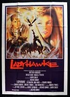 Werbeplakat Ladyhawke Lady Hawke Rutger Hauer Richard Donner Pfeiffer M302