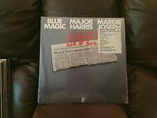 Blue Magic Major Harris LIVE! 2 LP WMOT WM2-5000 (VG+/EX/NM) Shrink