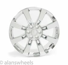 "4 NEW Cadillac Escalade ESV EXT Chrome 22"" Wheels Rims Lugs Free Shipping 5409"