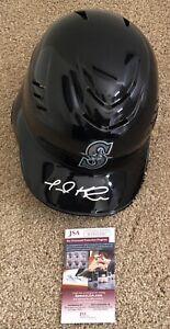 Jarred Kelenic Autographed Signed Full Size Batting Helmet w/ JSA COA