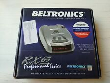 Beltronics intl RX65RU red used radar detector is brother RX65i international