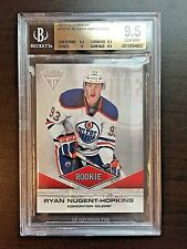 11/12 Panini Titanium #102 Ryan Nugent-Hopkins RC #81/93  BGS GEM MINT 9.5