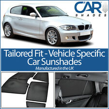 BMW 1 Series 3dr 2007-2012 UV CAR SHADES WINDOW SUN BLINDS PRIVACY GLASS TINT