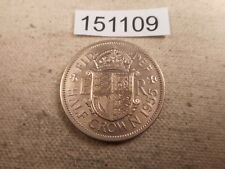 1955 Great Britain Half Crown Higher Grade Very Nice Collector Coin - # 151109