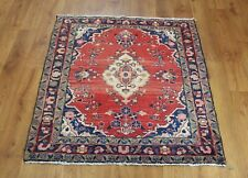 Traditional Vintage Wool Handmade Classic Oriental Area Rug Carpet 140X 104cm