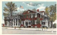 RICHMOND, VA  Virginia    HOME of CHIEF JUSTICE MARSHALL     c1920's Postcard