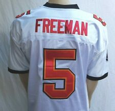 Reebok On Field Authentic NFL Jersey Tampa Bay Buccaneers Freeman White Size 52