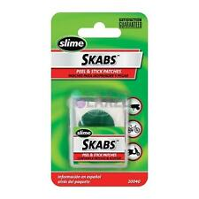 Slime Skabs Bike Bicycle Puncture Glueless Inner Tube Repair Patch Patches