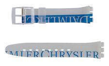 "ORIGINAL SWATCH 17mm GENT ARMBAND ""DAIMLER CHRYSLER"" (AGZ157) NEUWARE"