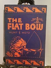 The Flat Bow Archery How to Make a Long Bow Recurve Bowstring Arrows Quiver Shot