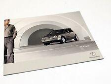 2005 Mercedes-Benz ML 350 ML 500 M-Class W163 Designo Brochure