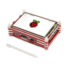 3.5 Inch LCD Display Touch Screen Kit w/ 9 Layer Case for Raspberry Pi 3  & Pi 2
