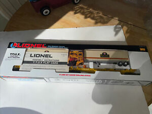 Lionel Trains 6-16345 Southern Pacific TTUX Car Set With Flat Cars and Trailers