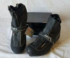 New Men's Louis Garneau Glacier Road Bike Shoes Black EU 46 1487131