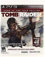 *NEW* Tomb Raider GOTY - PS3